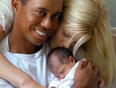 tiger woods family pictures